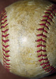 Old Worn Baseball Stock Image