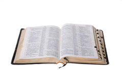 Old worn Bible Stock Image