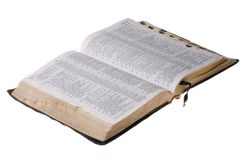 Old worn Bible Stock Photos