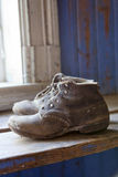Old worn boots Royalty Free Stock Image
