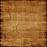 Old worn brown texture as abstract background. Digitally generated image Stock Photography