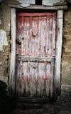 Old worn door Stock Photos