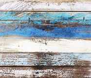 Old worn down wooden colored panels Stock Image
