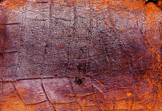 Old worn leather background Royalty Free Stock Photo