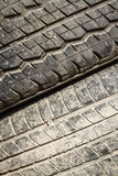 Old Worn Out Tires Royalty Free Stock Photo