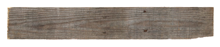 Old worn out wooden board Royalty Free Stock Images
