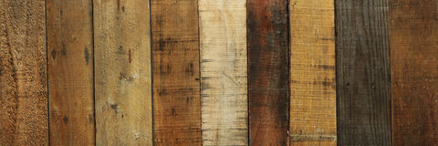Old worn out wooden boards background. Or texture Stock Images