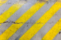 Safety Zone Paint Texture Royalty Free Stock Images