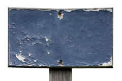 Old and Worn Painted Sign Stock Photos