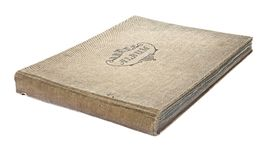 Old worn photograph album Stock Image