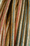 Old Worn Ropes. A background image of old and worn ropes Royalty Free Stock Photo
