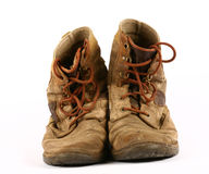 Old worn shoes Royalty Free Stock Photo