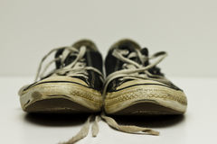 Old Worn Sneakers Royalty Free Stock Image