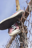 Old Worn Sneakers Royalty Free Stock Photography