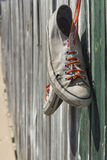 Old Worn Sneakers Royalty Free Stock Photos