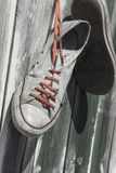 Old Worn Sneakers Stock Image