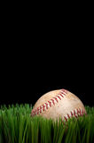 Old worn sports baseball Royalty Free Stock Photo