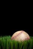 Old worn sports baseball