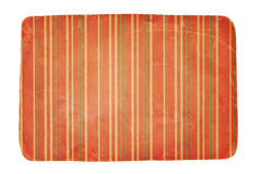 Old worn striped paper Stock Images