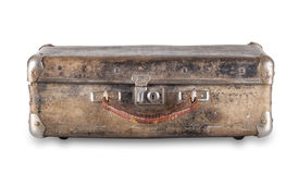 Old worn suitcase Royalty Free Stock Photo