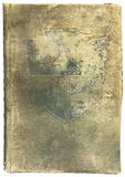 Old worn and torn book. The cover of a very old, worn and torn history book Royalty Free Stock Images