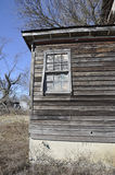 Old worn wood barn and window Royalty Free Stock Image