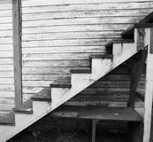 Old Worn Wood Staircase Royalty Free Stock Image