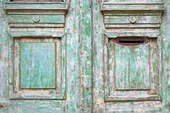 Old worn wooded door Royalty Free Stock Photo