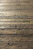Old worn wooden floor Royalty Free Stock Image