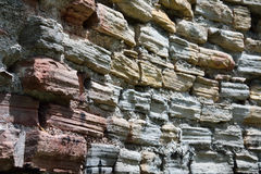 Old wornout walls Royalty Free Stock Images