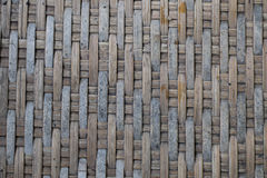 Old woven bamboo Stock Photo
