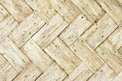 Old Woven Bamboo Royalty Free Stock Image