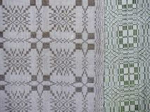 Old woven material Royalty Free Stock Photos