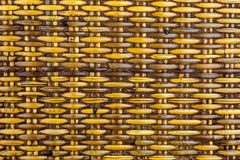 Old Woven Rattan Panel from South East Asia Royalty Free Stock Photo