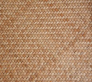 Old woven wood pattern Royalty Free Stock Photo