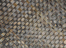 Old woven wood pattern Stock Photography