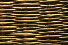 Old woven wood pattern Stock Photos