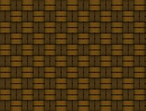 Old woven wood pattern Stock Images