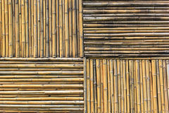 Old woven wood wall Stock Photo