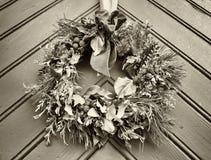 Old wreath royalty free stock photos