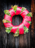 Old wreath stock photo