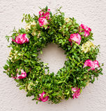 Old wreath royalty free stock image