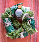 Old wreath royalty free stock images