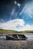 Old wreck boat Stock Images