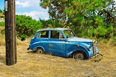 Old wreck car Royalty Free Stock Photography