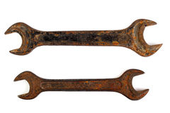 Old wrenches Royalty Free Stock Image