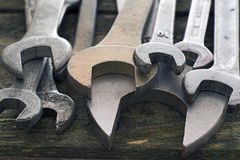 Old wrenches Stock Image