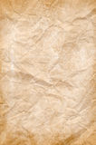 Old wrinkled paper background Royalty Free Stock Photography