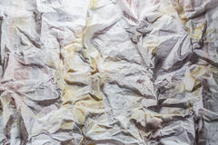 Old wrinkled paper Stock Photography