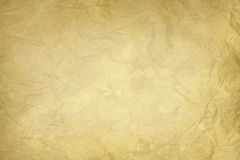 Old wrinkled paper texture Stock Image